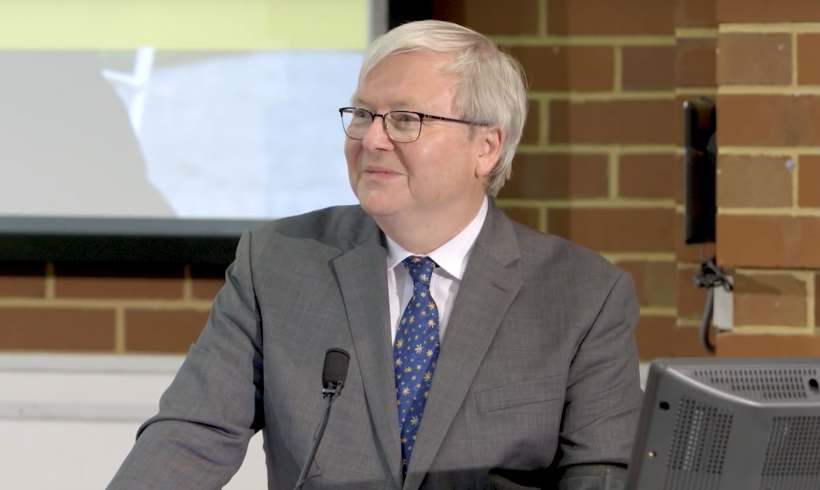 Kevin Rudd speaks at Curtin University on the Tenth Anniversary of the National Apology